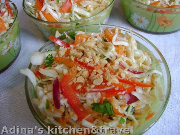 Salata de legume in stil oriental