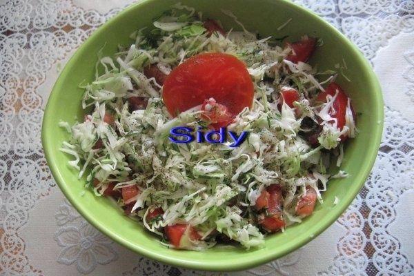 Salata de varza noua