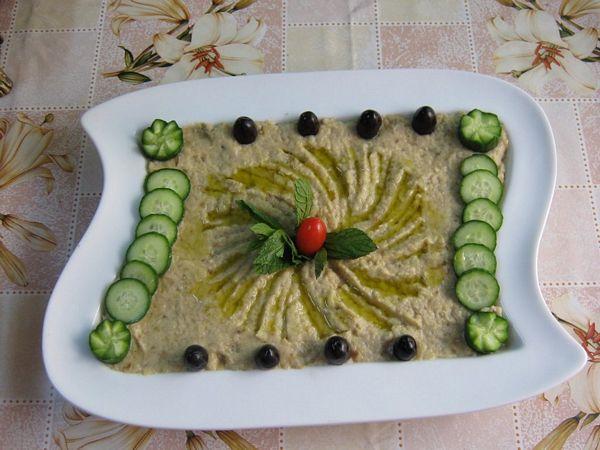 Salata de vinete cu pasta de susan- Mutabal betinjean -specific tarilor arabe
