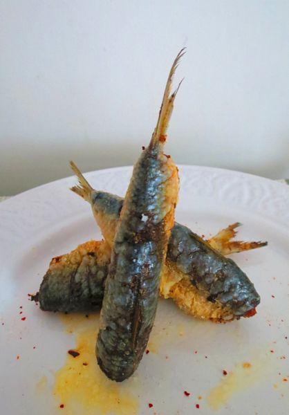 Sardine in stil marocan