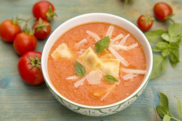 Supa crema de rosii la slow cooker