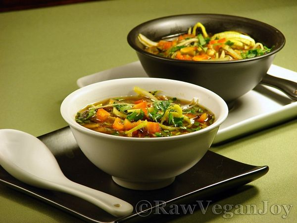 Supa Miso (raw Vegan)