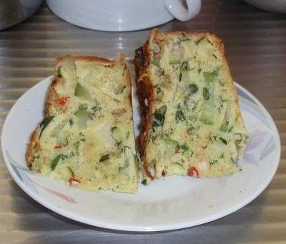 zucchini slice-felia cu dovlecei