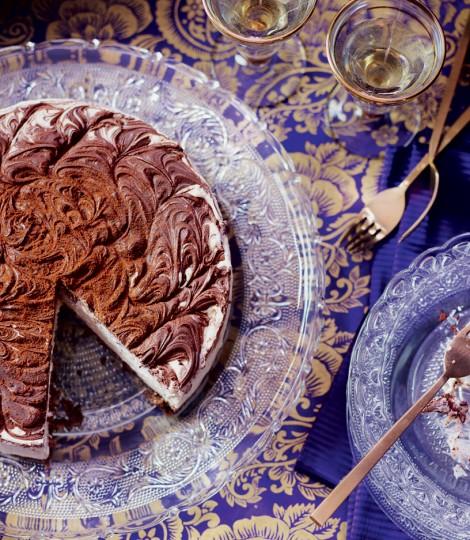 Cheesecake Cu Baileys Si Ciocolata, Un Desert Extravagant, Pentru Arome De Neuitat