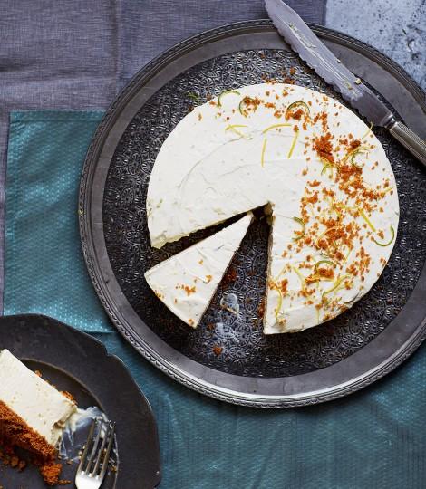 Cheesecake Cu Lamaie, Lime Si Ghimbir