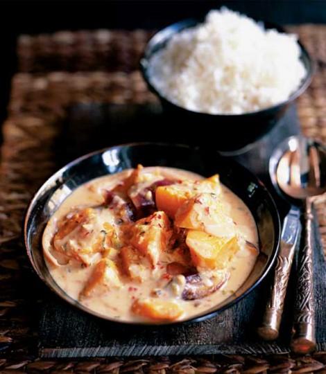 Dovleac Si Curry De Arahide