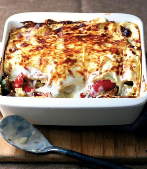 Lasagna Mediteraneana Cu Legume (Reteta Vegetariana)