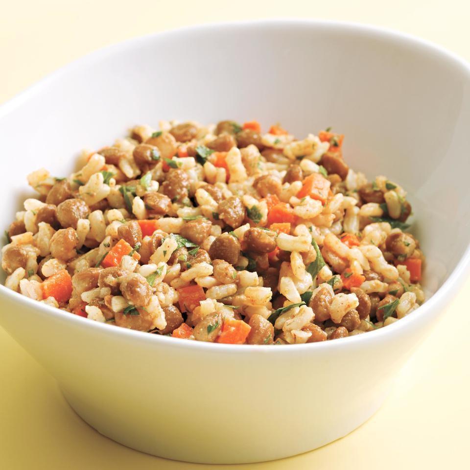 Salata De Orez Cu Linte