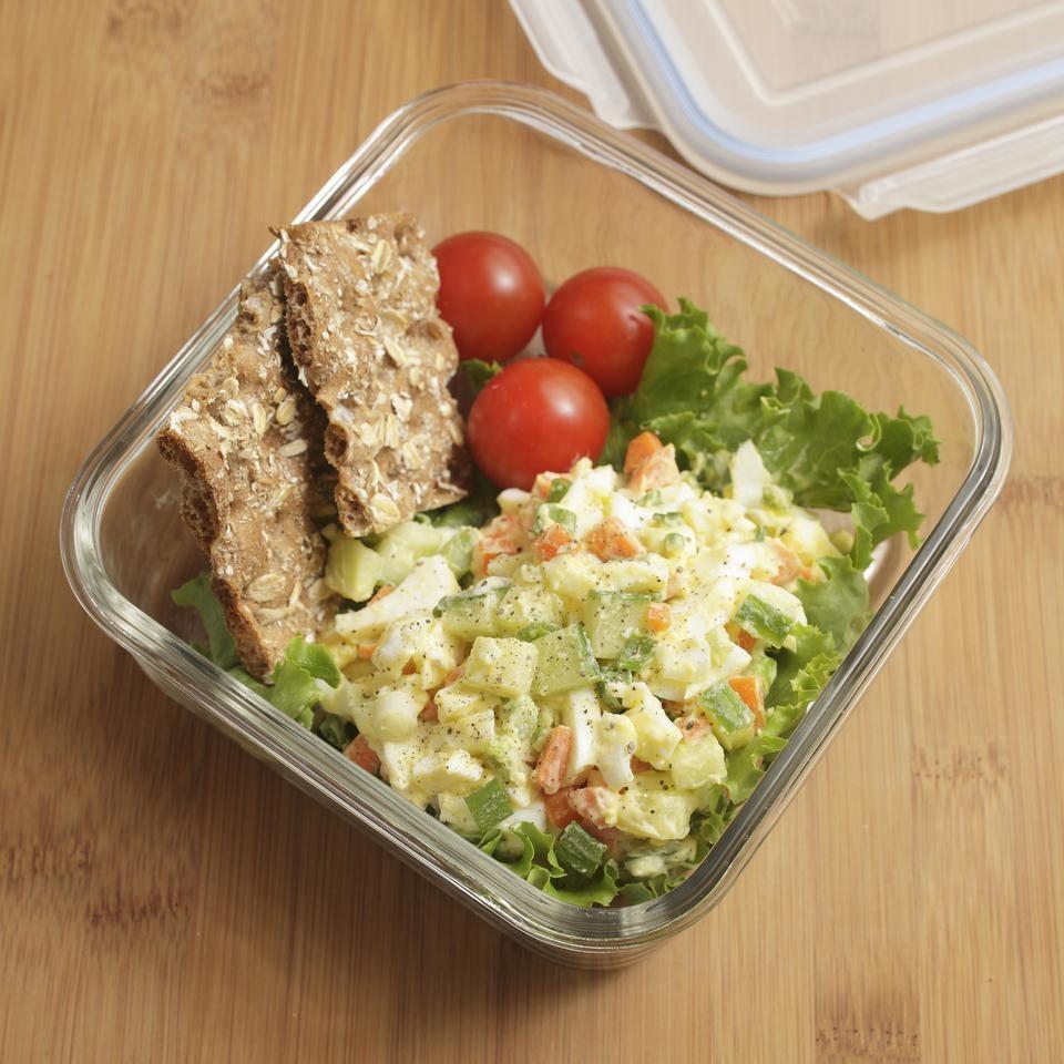 Salata De Ou Vegetariana