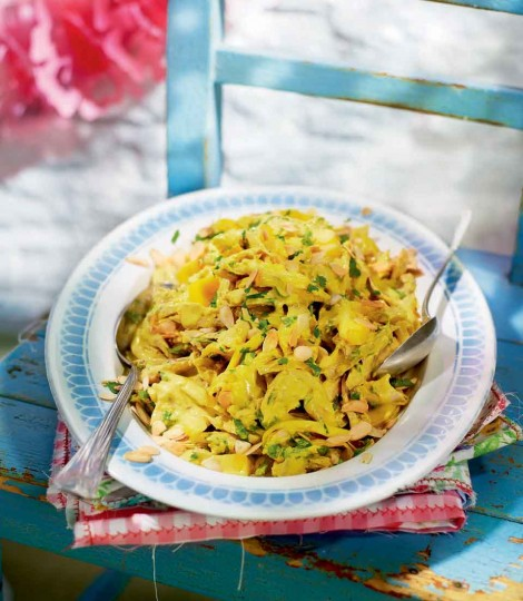 Salata De Pui Cu Mango Si Lime (Coronation Chicken)
