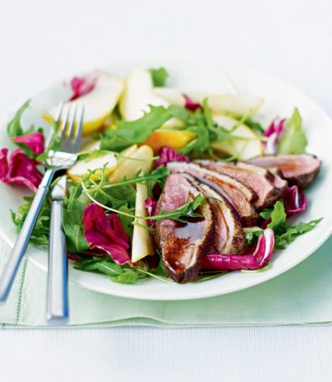 Salata De Rata Cu Pere