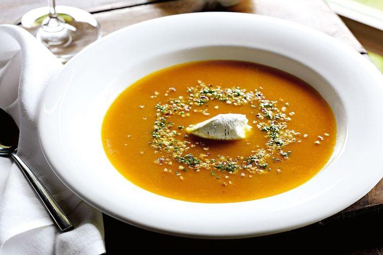Supa De Dovleac Copt Si Ghimbir