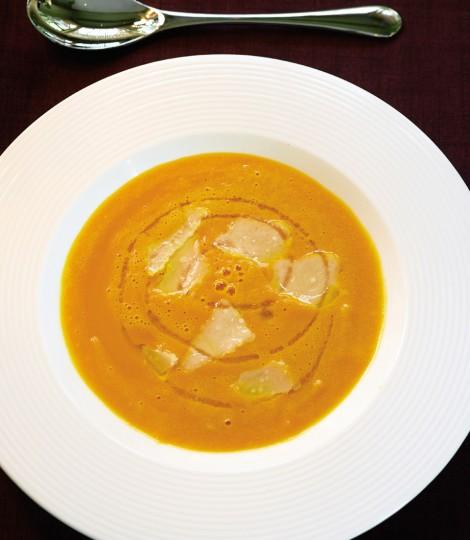 Supa De Dovleac Cu Parmezan