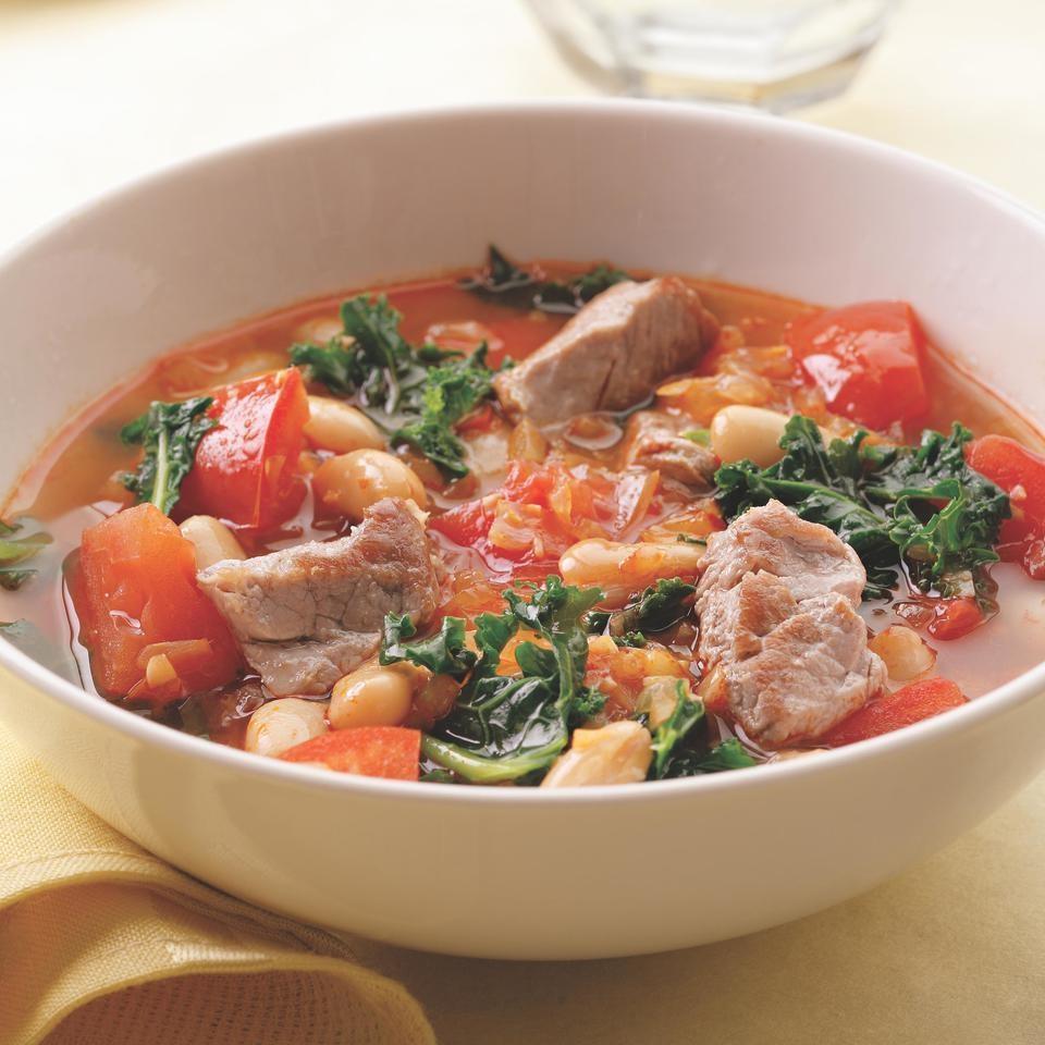 Supa De Porc Cu Fasole Si Napi