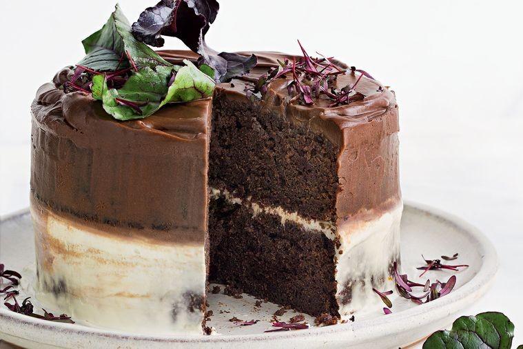 Tort Cu Sfecla Si Ciocolata Cu Lapte