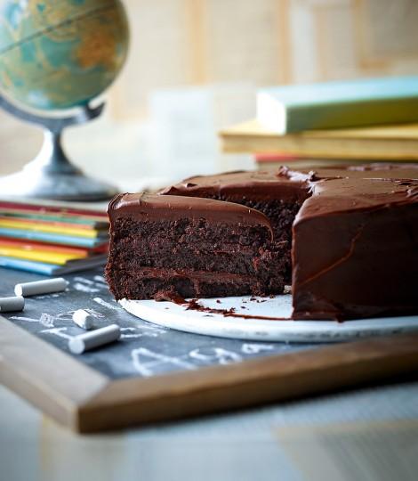 Tort De Ciocolata Cu Migdale